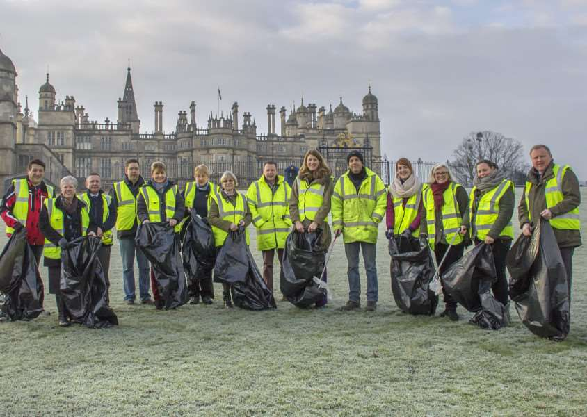 Burghley House is organising Clean for the Queen EMN-160202-162723001