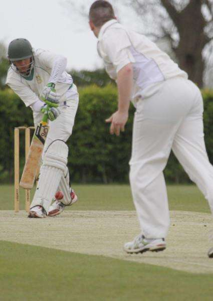 Uppingham Town CC in action against Wisbech. Photo: Geoff Atton EMN-151105-143150001