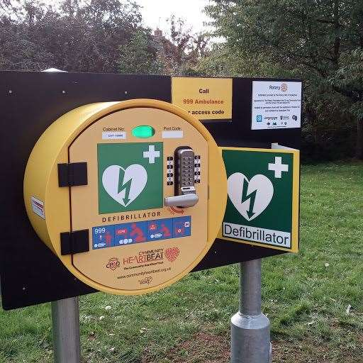 A new defibrillator for Uppingham
