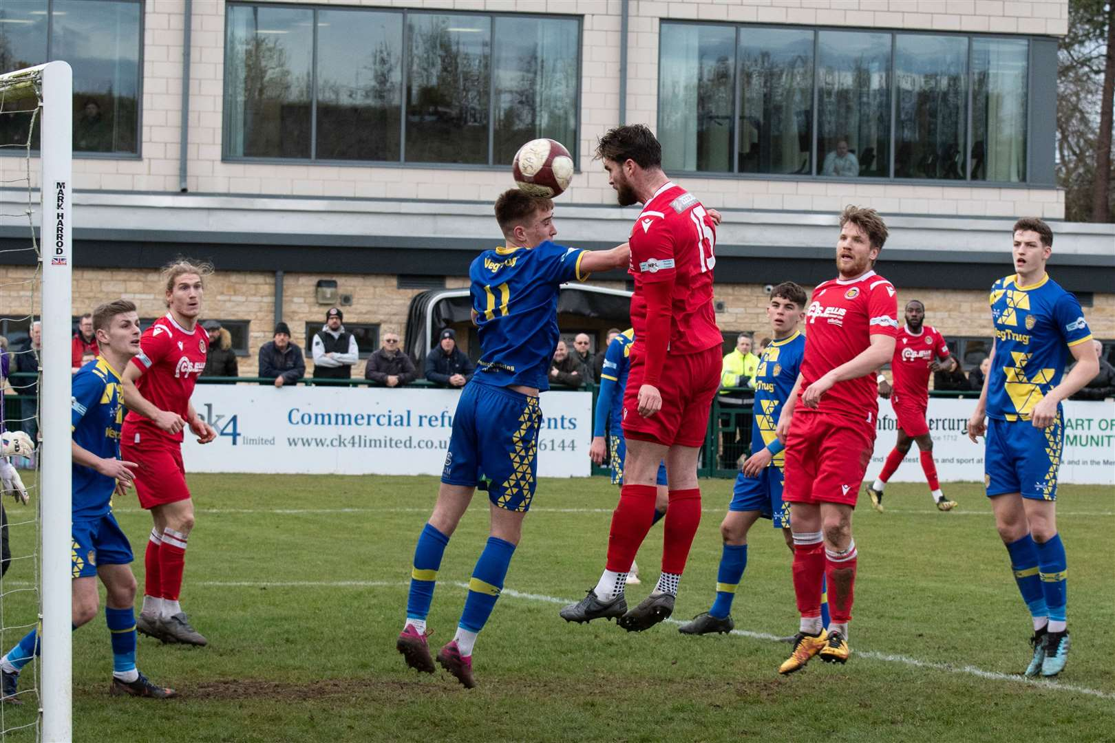 Stamford were 5-1 derby winners over Spalding United. Photo: Alan Walters (31578952)