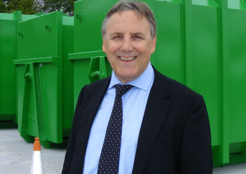Coun Reg Shore, vice-chairman of the Lincolnshire Waste Partnership.