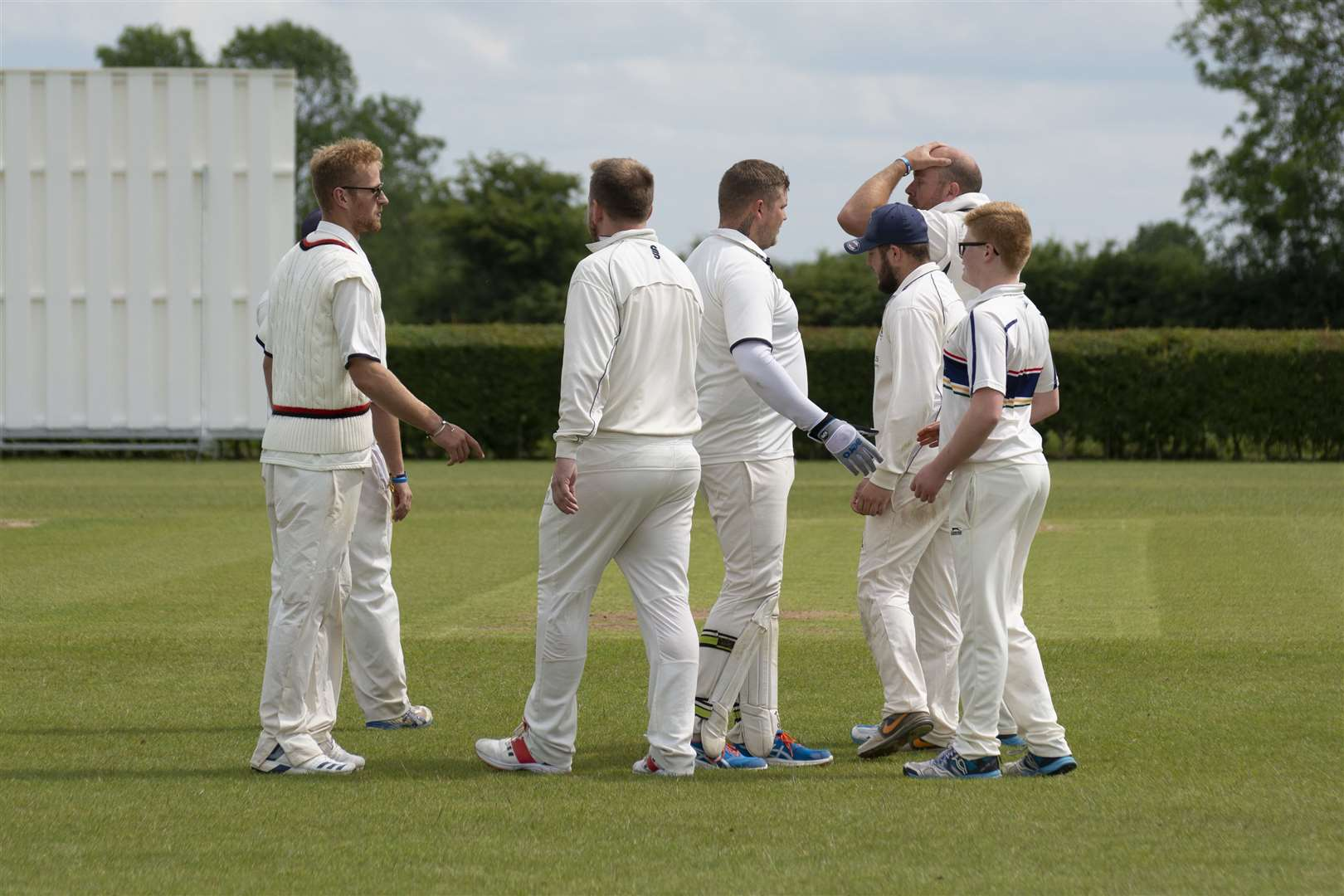 Uppingham v Stamford in the Rutland League (12135667)
