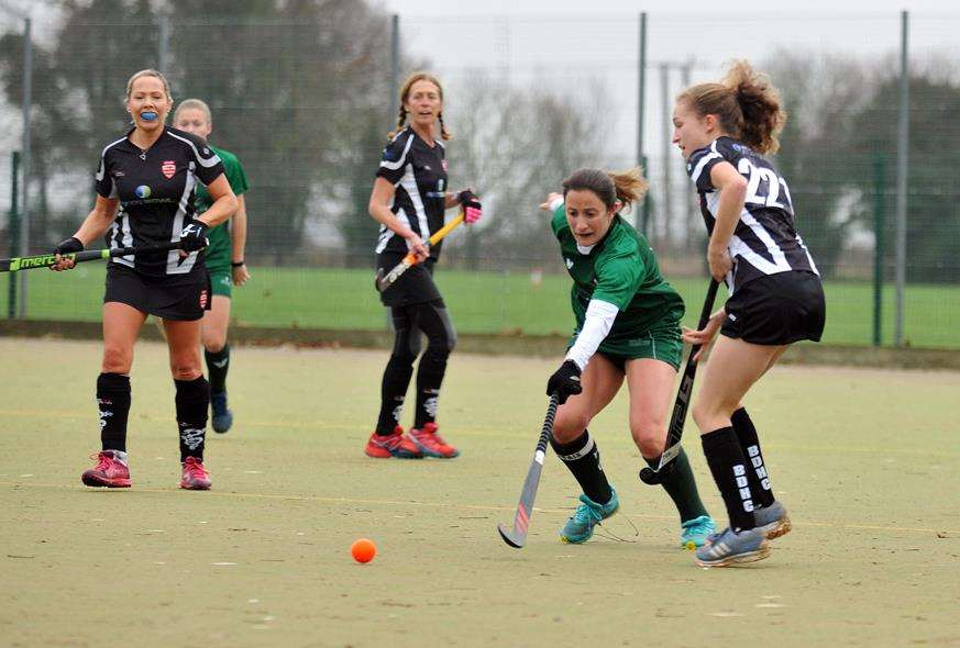 Peele Leisure Centre - Long Sutton v Bourne Deeping ladies hockeyFirst 25 mins (5724967)