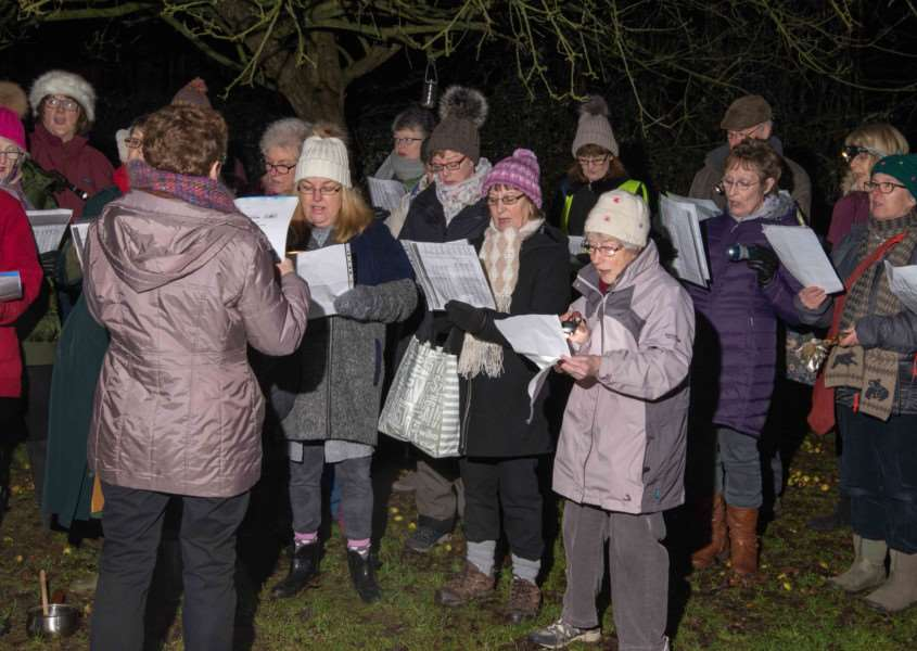 Ketton wassailing event'Photo: Alan Walters