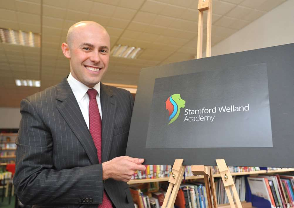 Anthony Partington, principal Stamford Welland Academy EMN-140826-142539009