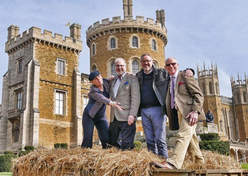 Rutland Lions - District Governor at Belvoir castle