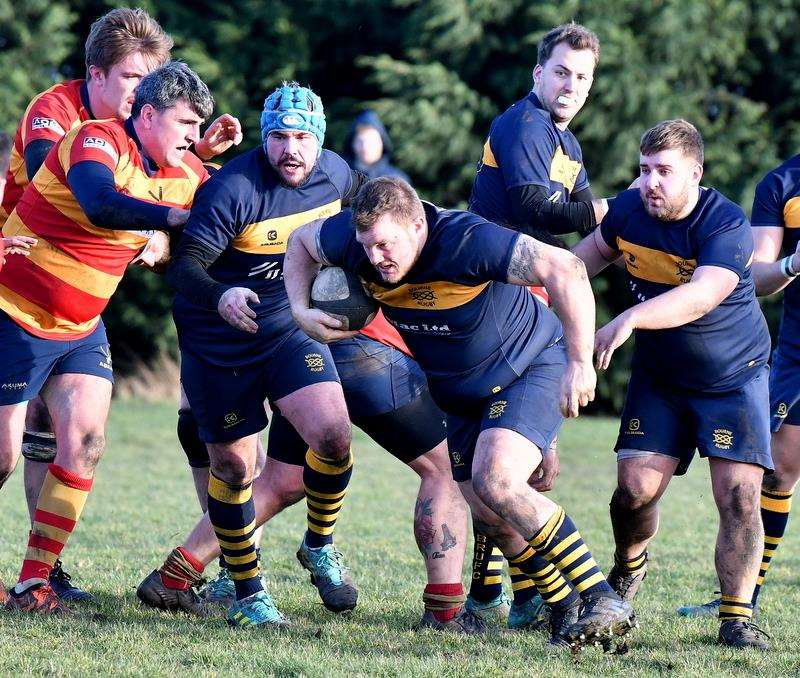 Bourne ran out 43-15 winners against Stockwood Park on Saturday. Photo: Alan Hancock (7085665)