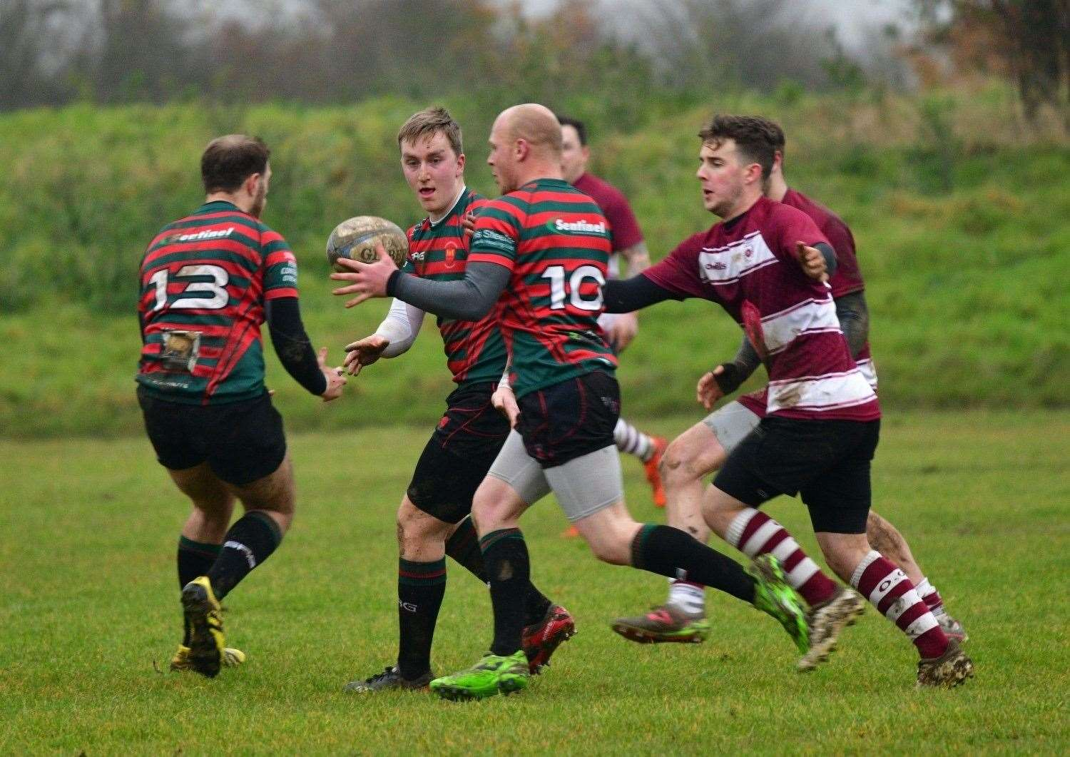 Stamford College were 21-3 winners at Wellingborough. Photo: Adrian Howes (22569188)