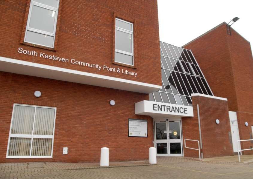 South Kesteven Community Point and Library at Bourne Corn Exchange.