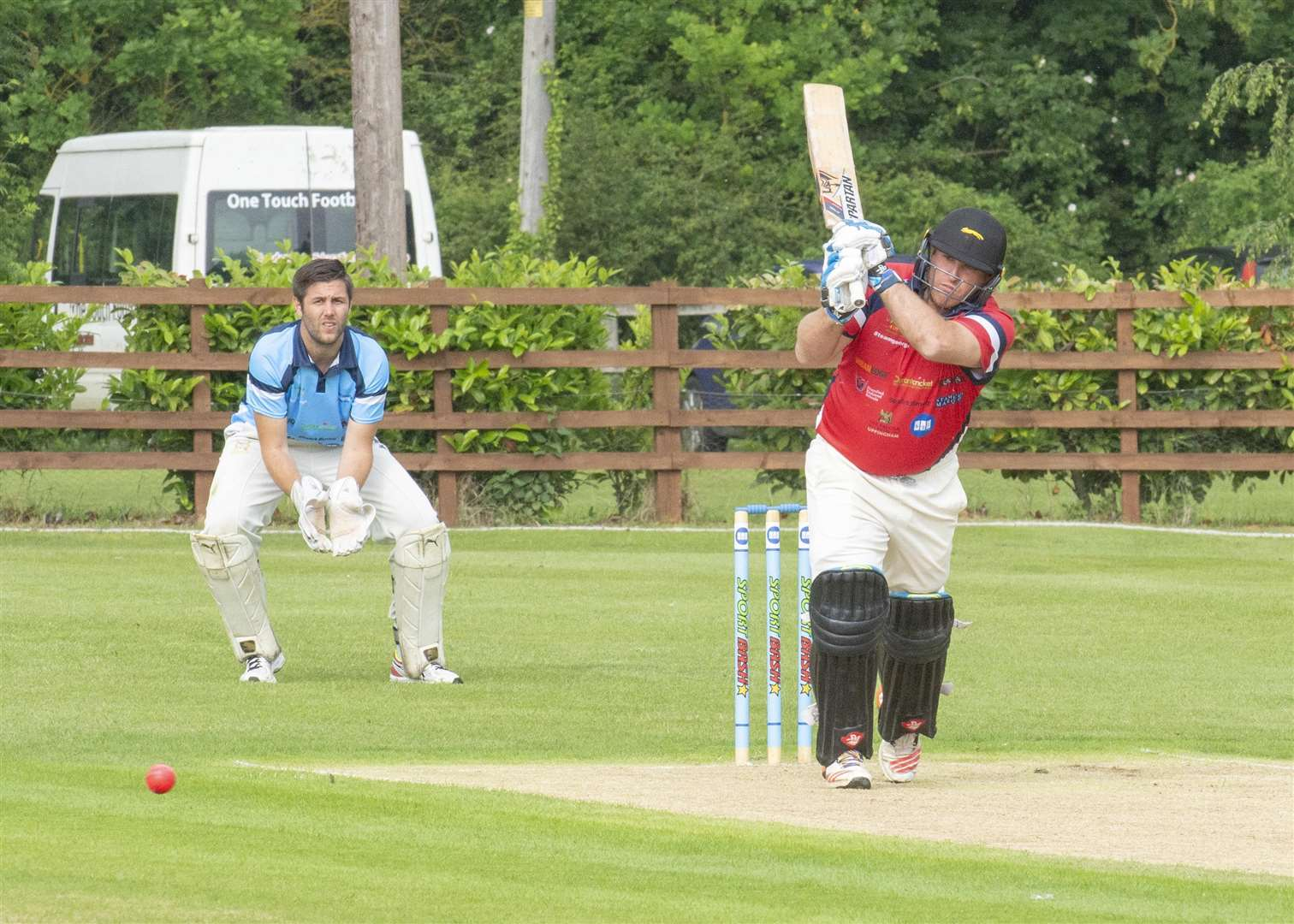Mark Cosgrove in action for the Dean Headley XI Picture: Lee Hellwing