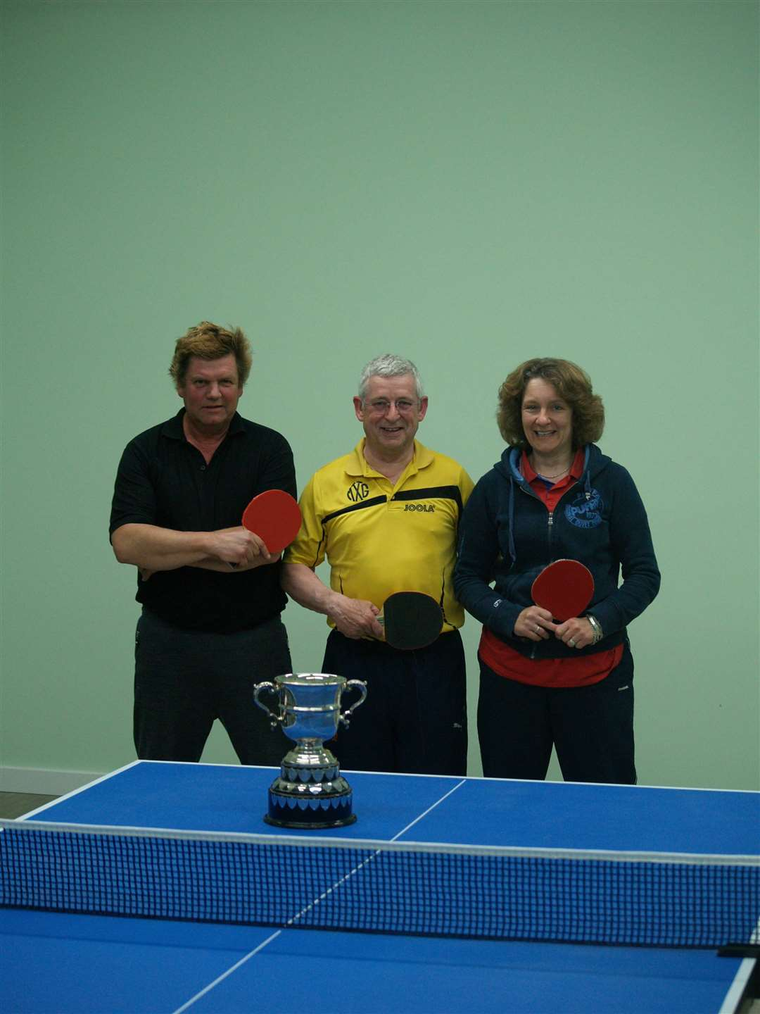 Ketco Cup finalists MTTG are Andy Goodacre, Dave Needham and Denise Jacobi. (10264629)