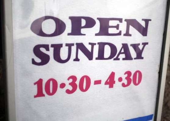 Church told not to get involved in Sunday opening times debate