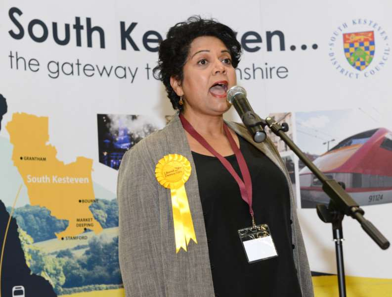 Liberal Democrat candidate Anita Day thanks those who supported her in the election.