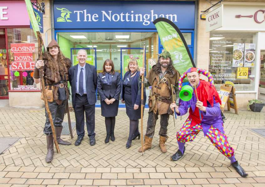The official opening of the Nottingham in High Street, Stamford'Photo: Lee Hellwing