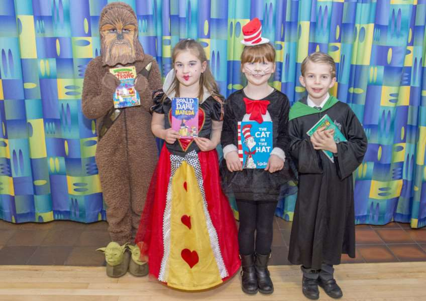 William Hildyard World Book Day'Photo: Lee Hellwing