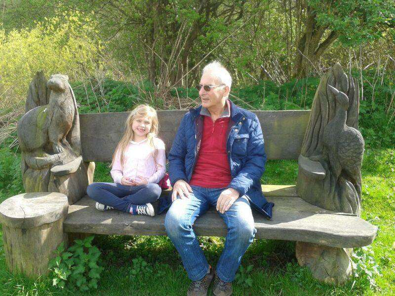 Tia and Grandad