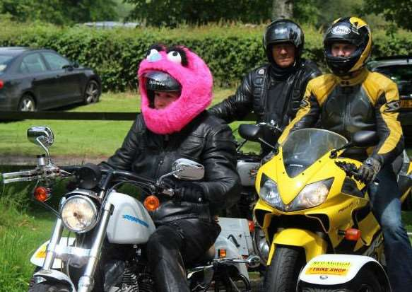 Claire Lomas, on her trike at the start of her charity ride out 'Road2Recovery' in aid of the Nicholls Spinal Injury Foundation (NSIF) EMN-150615-130920001