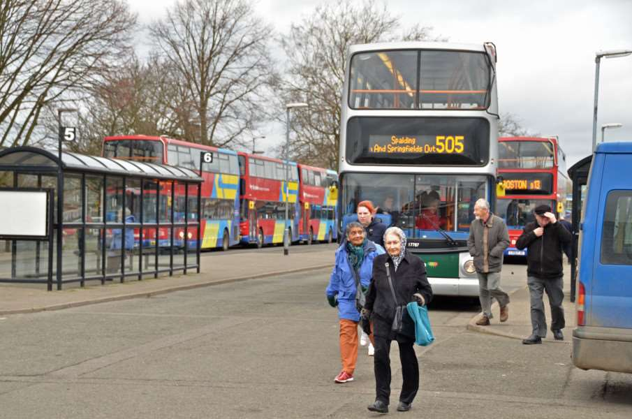 The county council is proposing to reduce the subsidy for public transport by �2.2m
