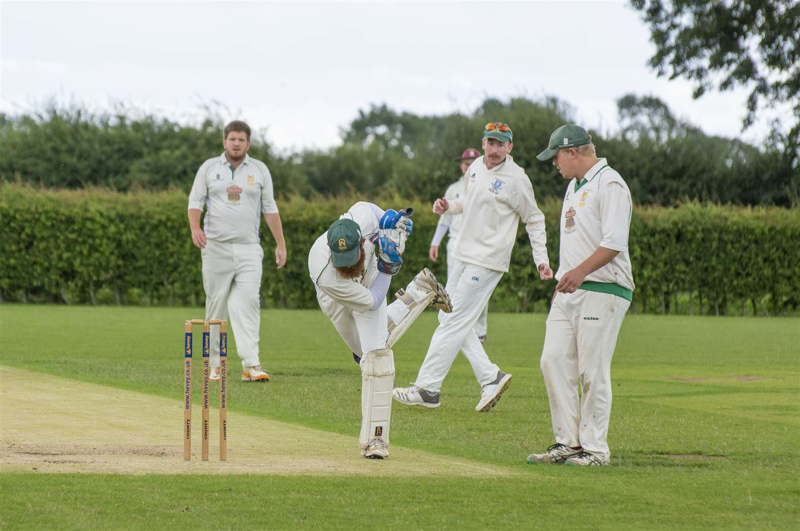 Uppingham were defeated by Ufford Park in Sunday's Division Two tussle. Photo: Lee Hellwing (15494195)