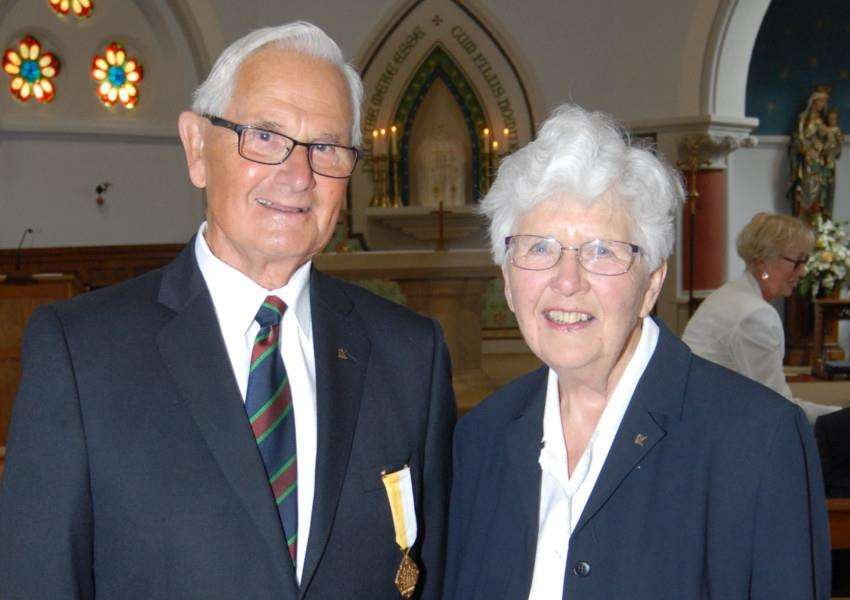 Jon and Mary Nickerson celebrate 60-years of marriage