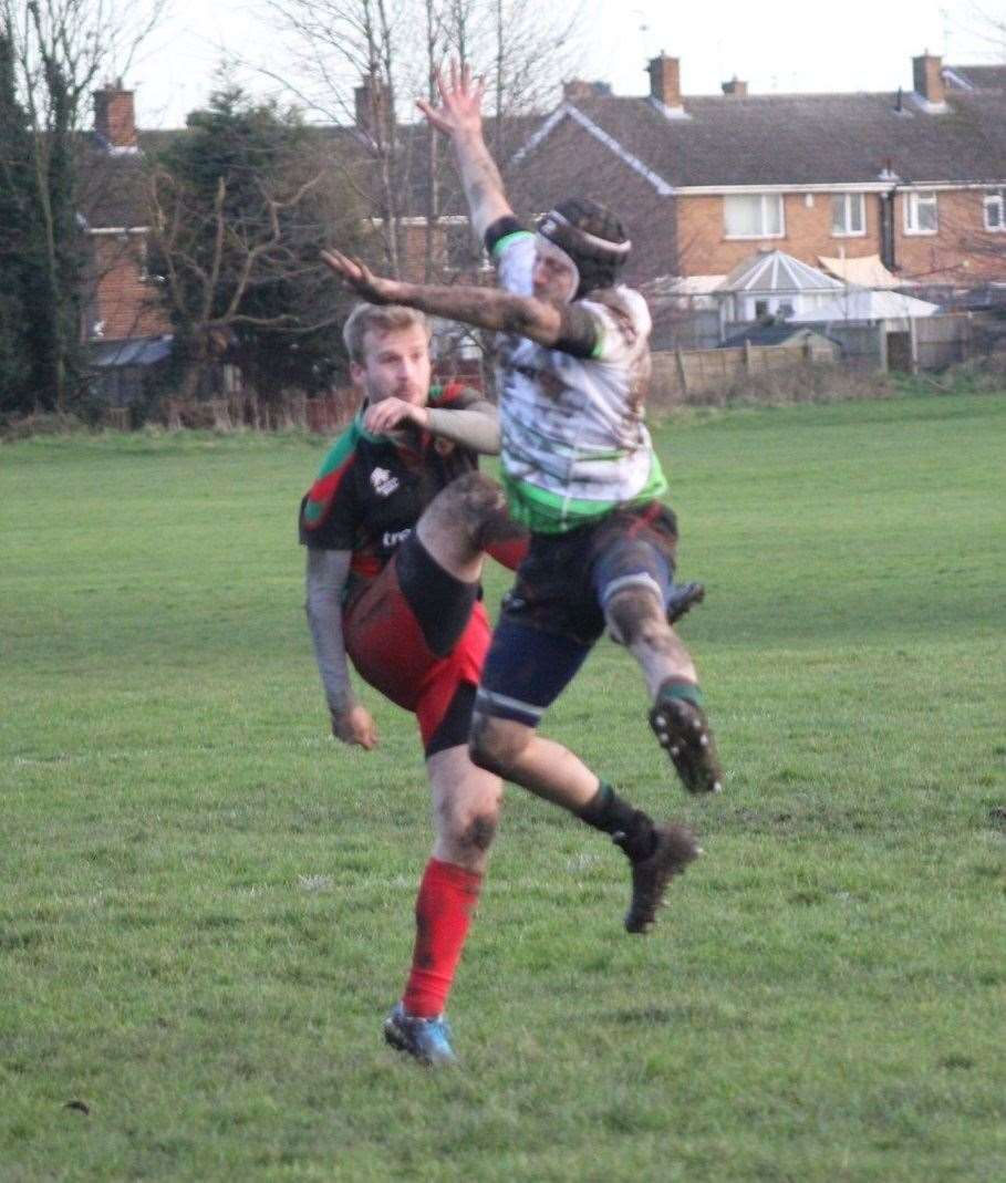 Stamford College Old Boys defeated Bingham in the semi-final of the NLD Vase on Saturday. Photo: Ray Bates (27334996)