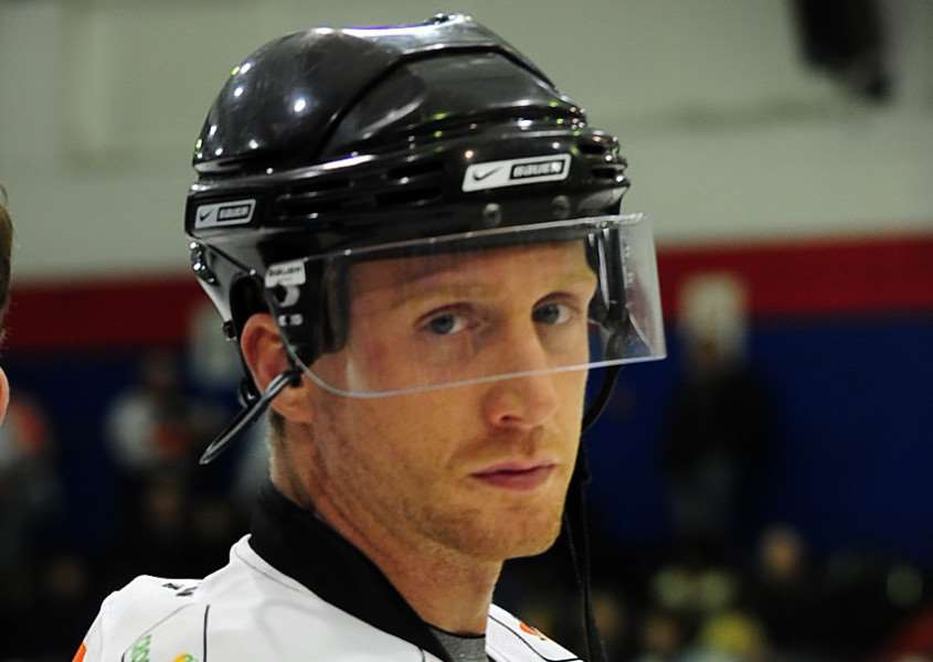 Former GB International ice hockey player James Morgan