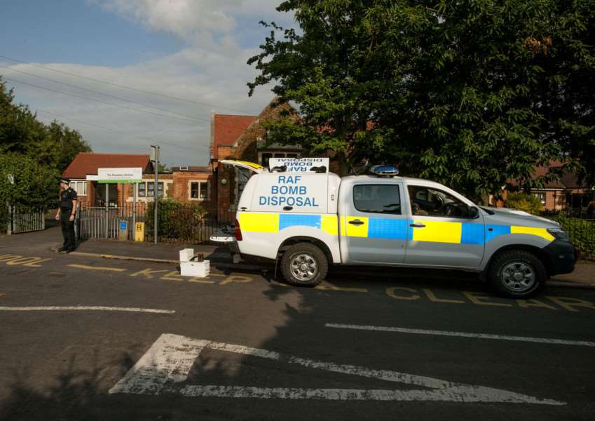 Incident at Roseberry Avenue School King's Lynn