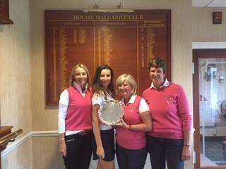Greetham Ladies who won the Scratch League. (4160805)