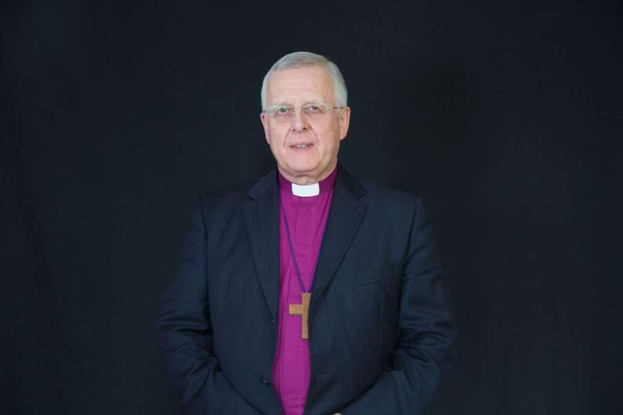 The Bishop of Peterborough Rt Revd Donald Allister