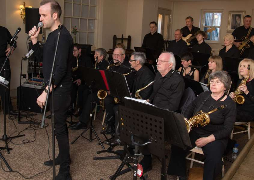 Uppingham Jazz and Soul Band perform at The Falcon Hotel