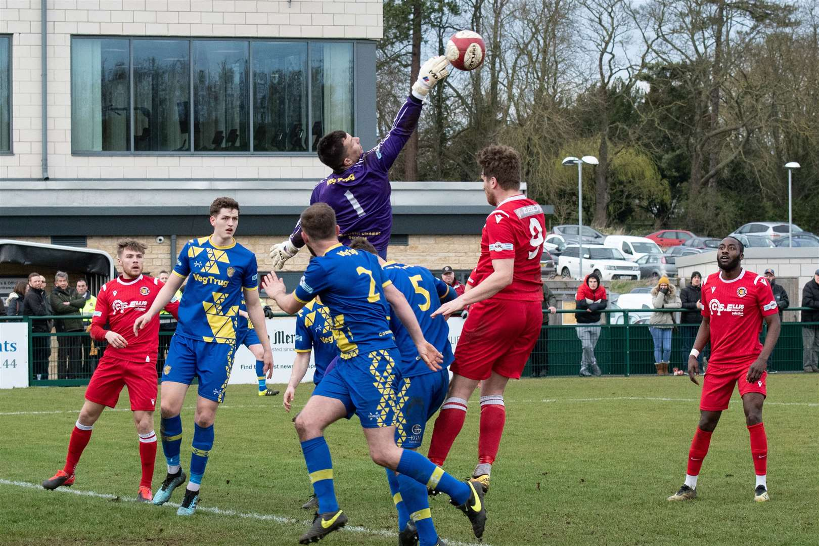 Stamford were 5-1 winners over Spalding United on Saturday. Photo: Alan Walters (31727440)