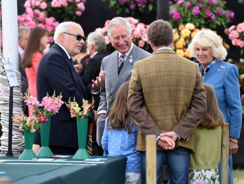 Sandringham Show with the Prince Charles and Camilla in attendance ANL-150729-162022009