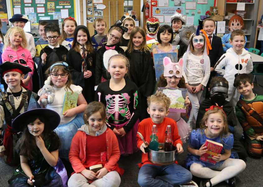 World Book Day Catmose Primary