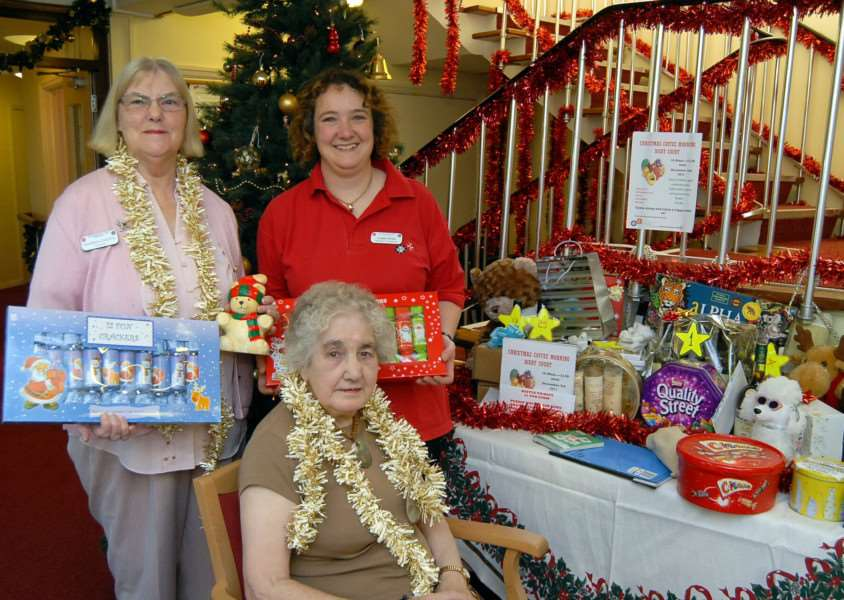 Previous Christmas event at Digby Court
