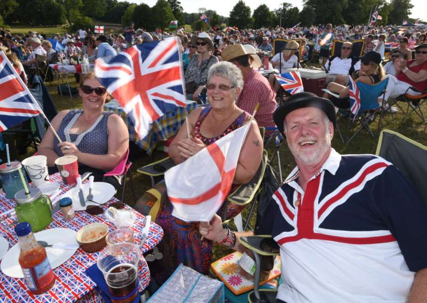 The Battle Proms at Burghley Park. EMN-150407-220058009