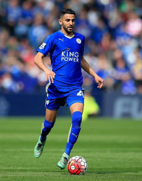 File photo dated 03-04-2016 of Leicester City's Riyad Mahrez. PRESS ASSOCIATION Photo. Issue date: Wednesday April 13, 2016. Jamie Vardy, Riyad Mahrez and N'Golo Kante have all been recognised for their role in Leicester's Barclays Premier League title charge by being named on the shortlist for the PFA Players' Player of the Year. See PA story SOCCER PFA. Photo credit should read Nick Potts/PA Wire. EMN-160415-143150002