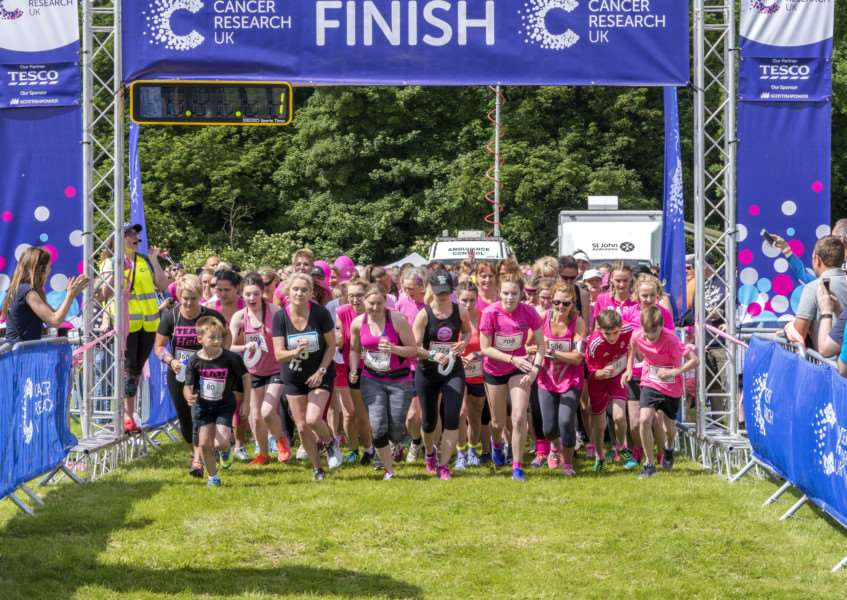 Race for Life Stamford 2017'Photo: Lee Hellwing