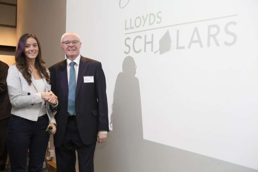 Local Lincolnshire student, Amelia Parrish, celebrates graduation from Lloyds Scholars programme ANL-151126-142018001