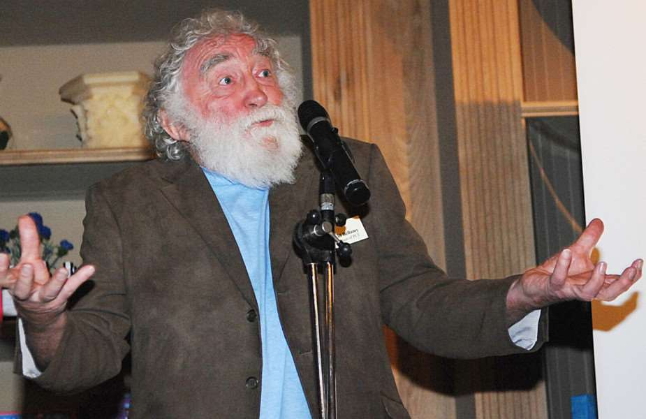 Popular naturalist 'Dr David Bellamy leads the judging panel for this year's Lincolnshire Environmental Awards 2017. Photo by Paul Marsh.