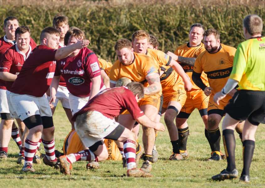Action from Melton v Oakham Wanderers. Photo: Andy Balmford