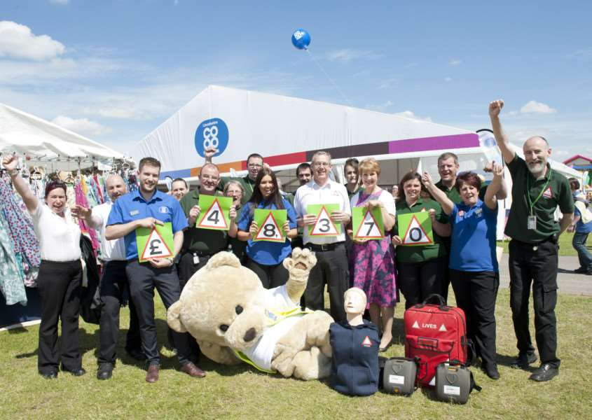 Lincolnshire Co-op at the 2015 Lincolnshire Show.