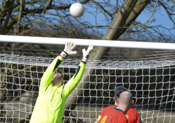 Charity football match for CDH UK in Oakham. Photo: Alan Walters MSMP-01-03-15-aw004 EMN-150203-112349001