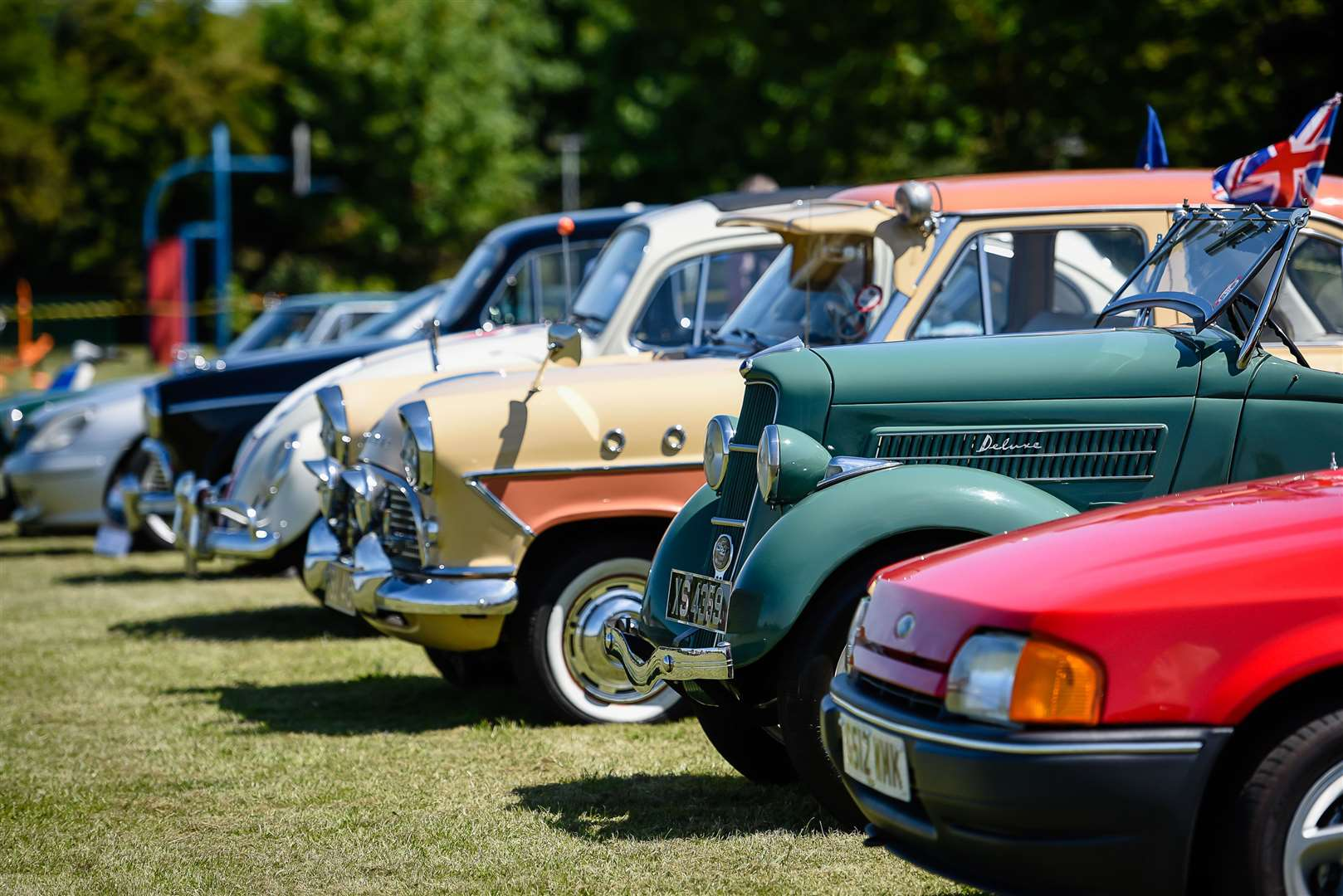 Maxey Classic Car and Bike Show