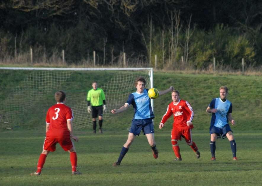 Ketton FC v Sileby Town Reserves in the Leicestershire FA Intermediate Cup. Photo: John Evely EMN-140812-095258001