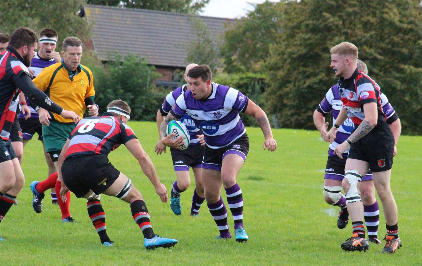 Stamford defeated Dunstablians on Saturday. Photo: Darren Dolby (18176300)