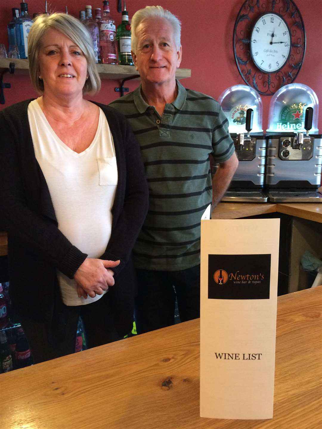 Gail and Keith Newton of Newton's Wine Bar and Tapas, Bourne (6975756)