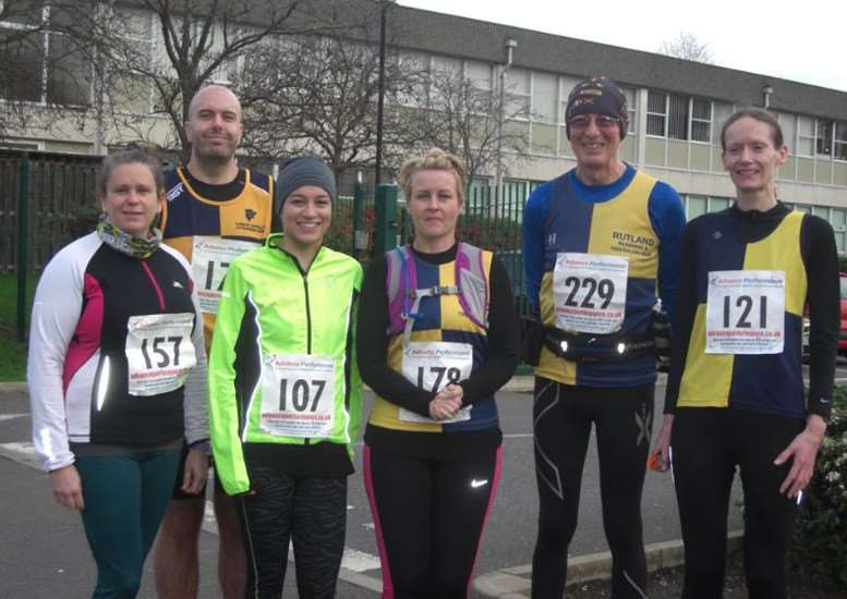 Rutland Running and Tri Club athletes at the Nene Valley 10 mile event EMN-150912-161836001