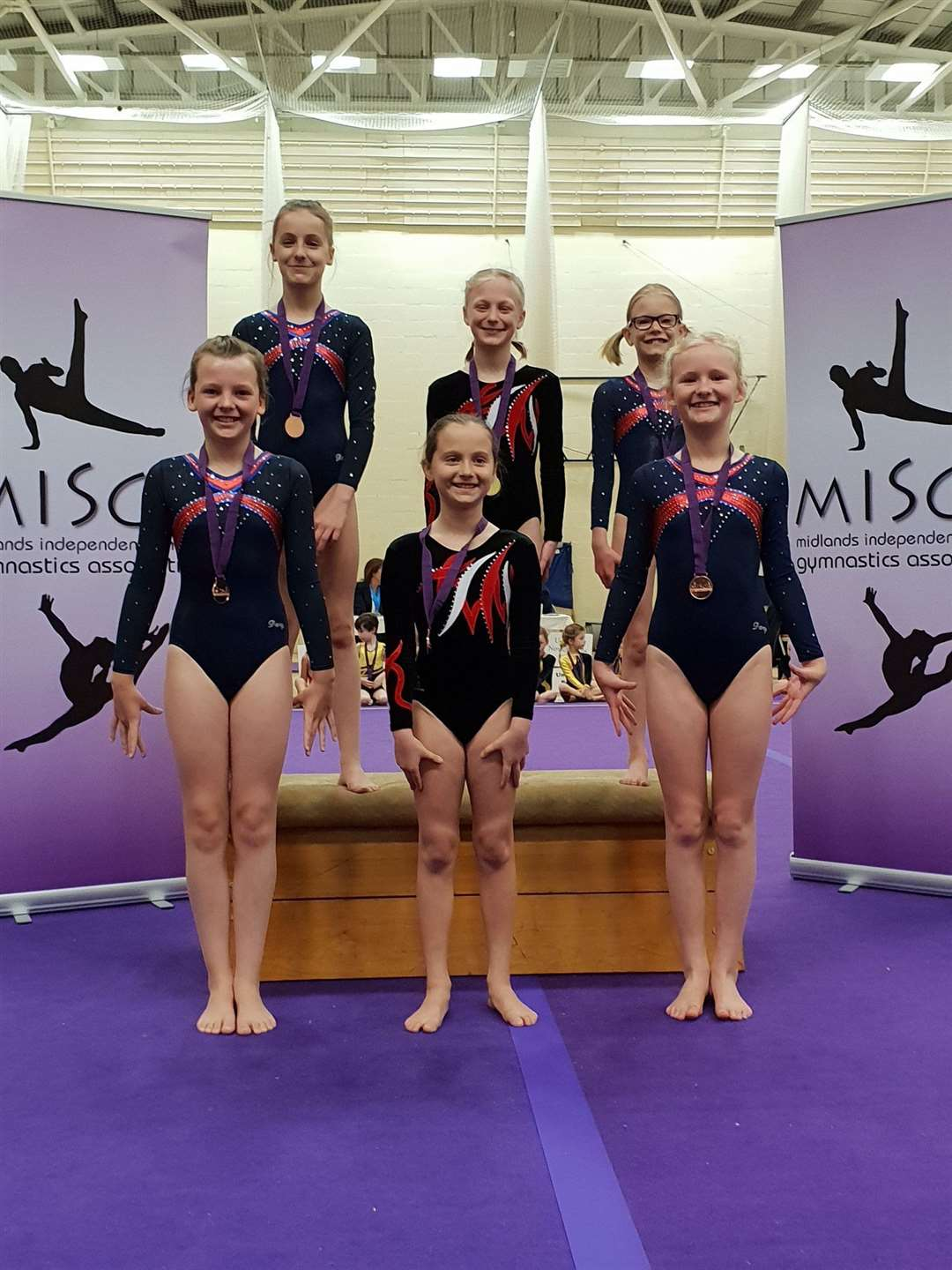 Stamford Endowed Schools' gymnastic squad entered ten teams into the Midlands Independent Schools Gymnastics Championships (MISGA) and picked up a collection of accolades. (9543177)