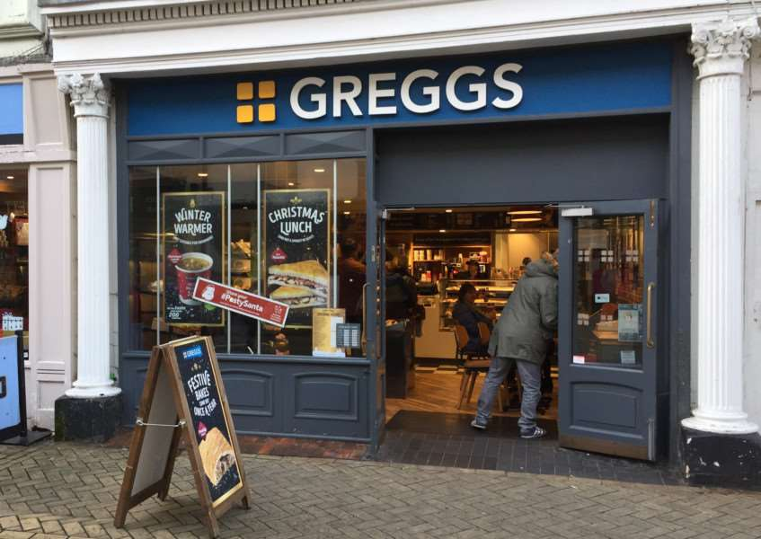 Greggs in Stamford is to close in the new year EMN-161222-143420001