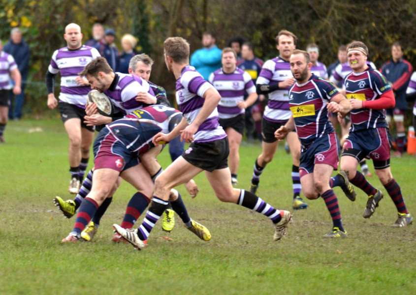 Spalding Rugby Club, Memorial Field - early action v Stamford ANL-150612-123746001